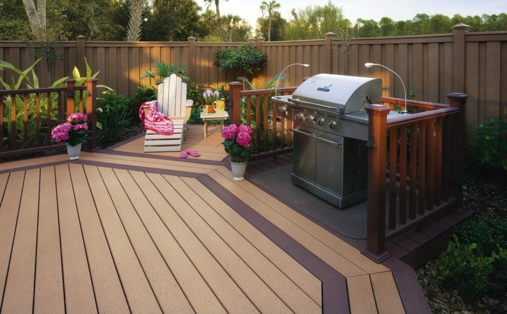 Create More Space In Your Garden With Some Composite Decking.